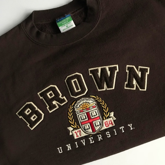 310532d2c2bd Champion Shirts | Brown University Crewneck Sweatshirt | Poshmark